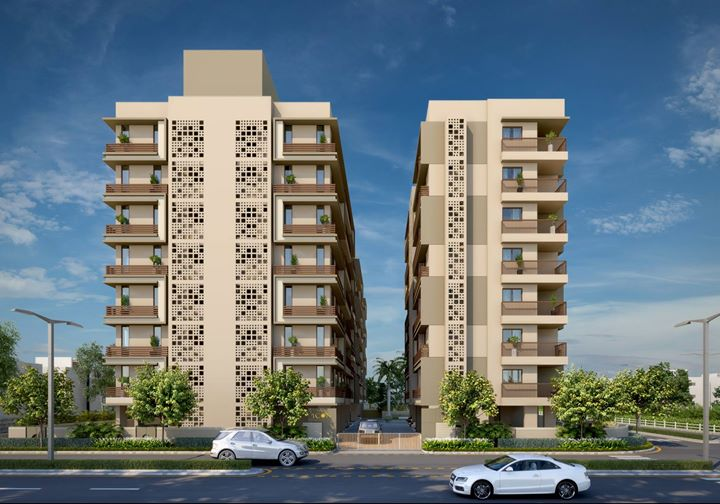 Jaldeep Icon - Embrace Joy of Living  An Iconic Home for an Iconic Life,  2&3 BHK APARTMENT at Makarba.  by Shree Radha Krishna Group http://www.radhakrishnagroup.co.in/property_view.php?id=78