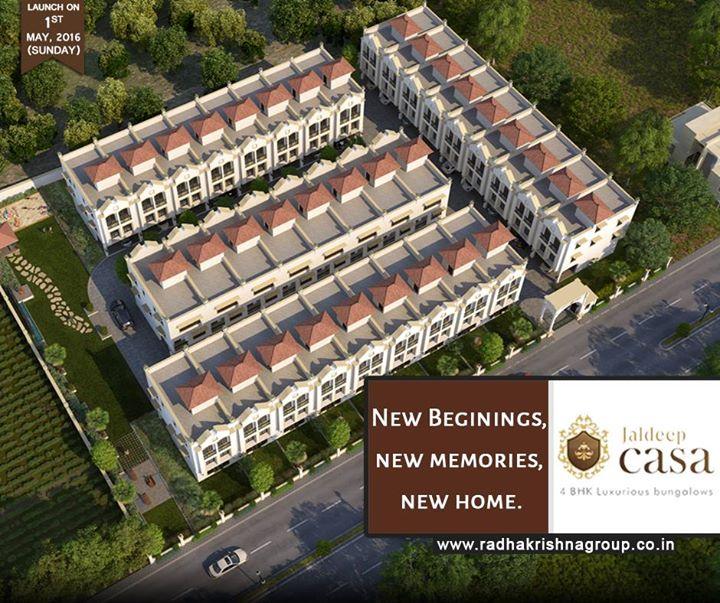 We bring you Jaldeep Casa, 4 BHK luxurious bungalows incorporating the richness of heritage at Bopal Ahmedabad #LavishLifeStyle #Ahmedabad #JaldeepCasa #ShreeRadhaKrishnaGroup