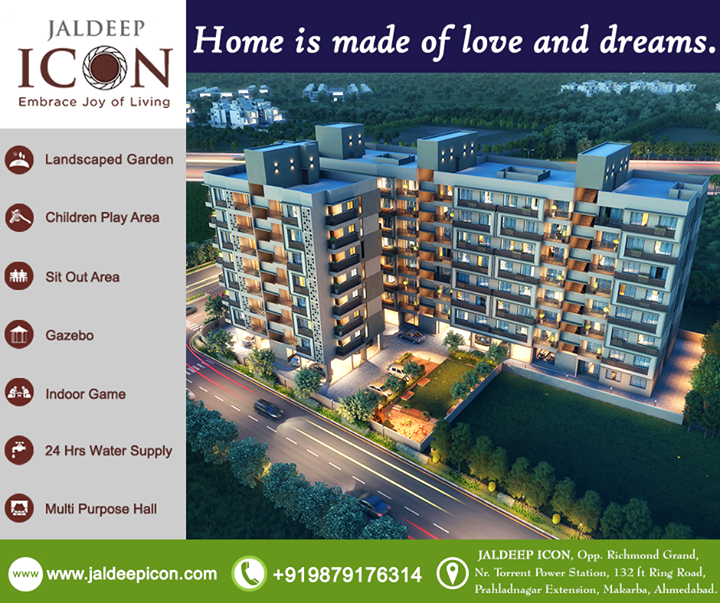 Radha Krishna Group,  ShreeRadhaKrishnaGroup, JaldeepIcon, Ahmedabad, LuxuryLiving