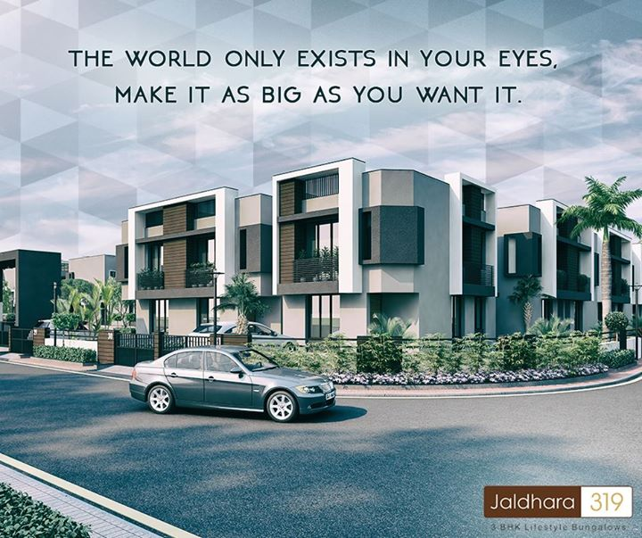 Home is where love resides and memories are created, so make it big. #ShreeRadhaKrishnaGroup #Jaldhara319 #Ahmedabad #LuxuryLiving