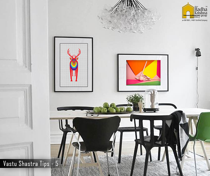 Choosing a perfect art piece is a tiring task. Pick bright and colourful  paintings that bring positivity around the house. #VastuShastraTips #ShreeRadhaKrishnaGroup #LuxuriousHome #Ahmedabad