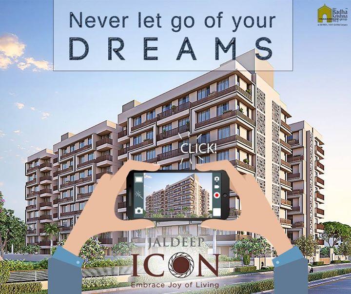 Everything starts with a dream. #ShreeRadhaKrishnaGroup #JaldeepIcon #Ahmedabad #LuxuryLiving #LavishLifeStyle