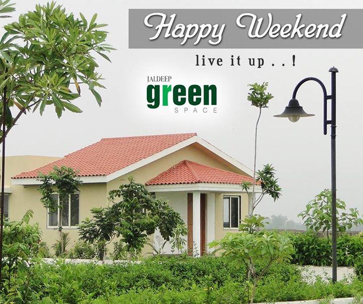 Good Morning!! Hope your weekend is filled with sunshine and laughter. #JaldeepGreenSpace #ShreeRadhaKrishnaGroup  #LavishLifeStyle #Ahmedabad #LuxuryLiving