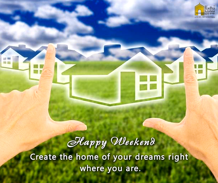 Good Morning!! Have a beautiful and happy weekend. #ShreeRadhaKrishnaGroup #Ahmedabad #Weekend #LuxuryLiving