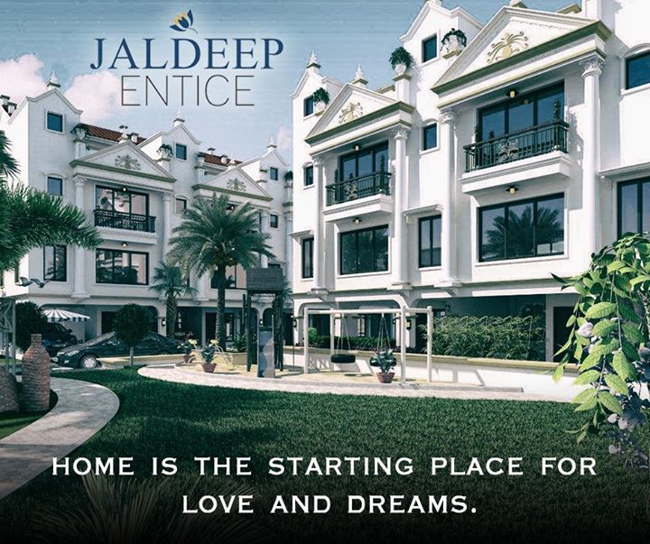 Unleash the luxurious and comforting life for your loved ones #ShreeRadhaKrishnaGroup #JaldeepEntice #Ahmedabad #LuxuryLifeStyle