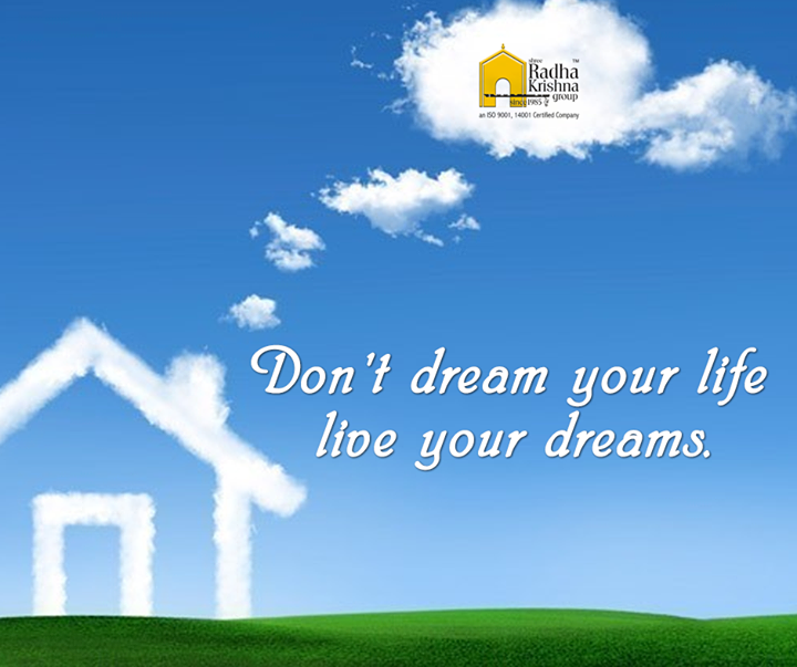 Chase your dreams and you'll find your home. #MondayMotivation #ShreeRadhaKrishnaGroup #Ahmedabad #JaldeepVertex #JaldeepIcon ##Jaldhara319 #JaldeepEntice