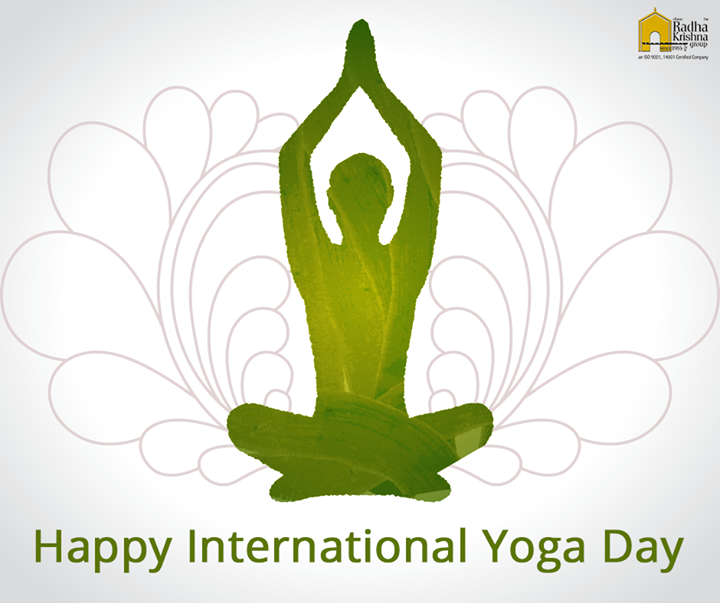 Radha Krishna Group,  InternationalYogaDay, ShreeRadhaKrishnaGroup, YogaDay
