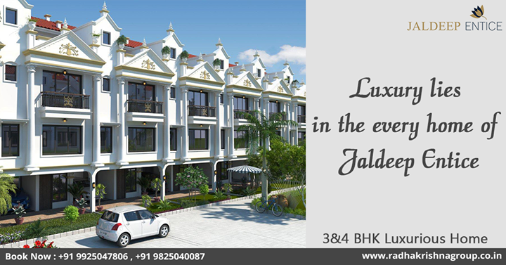 Radha Krishna Group,  JaldeepEntice, ShreeRadhaKrishnaGroup, Ahmedabad, LuxuriousLifeStyle