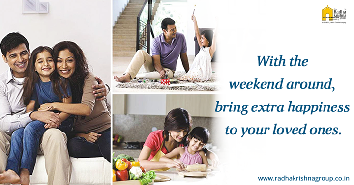 Weekend means it's time to put your feet up and relish the precious moments. #ShreeRadhaKrishnaGroup #Ahmedabad #WeekEnd #House #LuxuriousLifeStyle