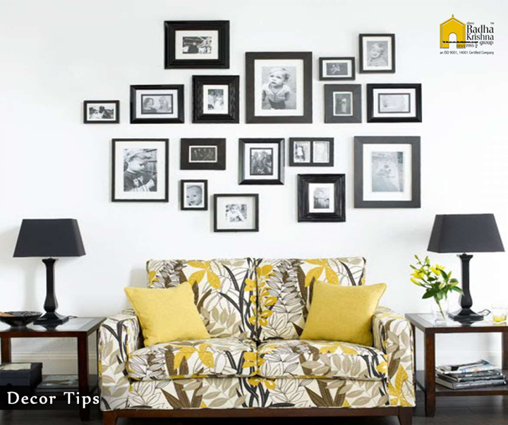 Try to edit your collectibles, just don't hang on to a piece that doesn't fit. In decorating your home or a room you should where to stop and let the room have some space. #DecorTips #Ahmedabad #Design #ShreeRadhaKrishnaGroup