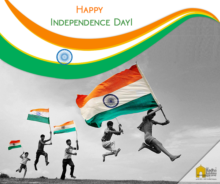 May the Indian tricolor always fly high. Warm wishes on the grand occasion of  Independence Day. #HappyIndependenceDay