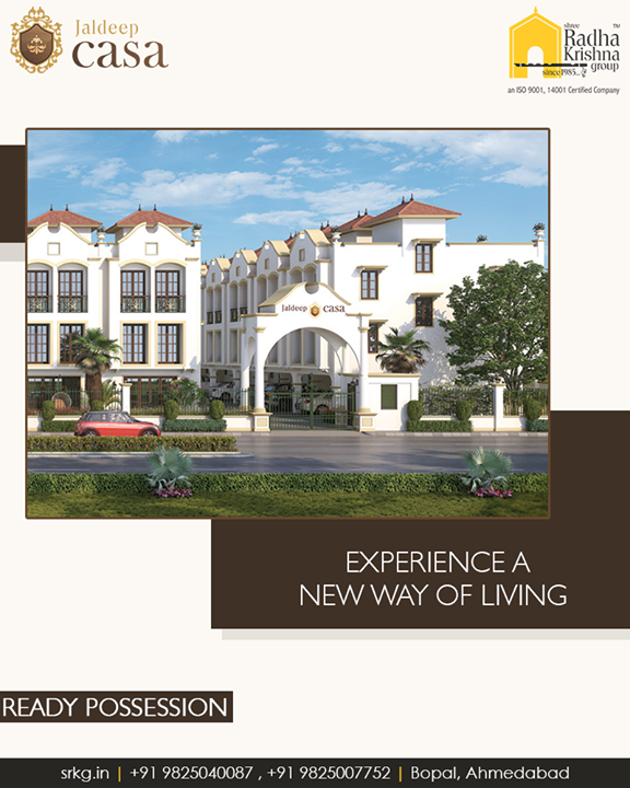 This is where you can treasure all your life's dreams.  #JaldeepCasa #LuxuryLiving #ShreeRadhaKrishnaGroup #Ambli #Ahmedabad