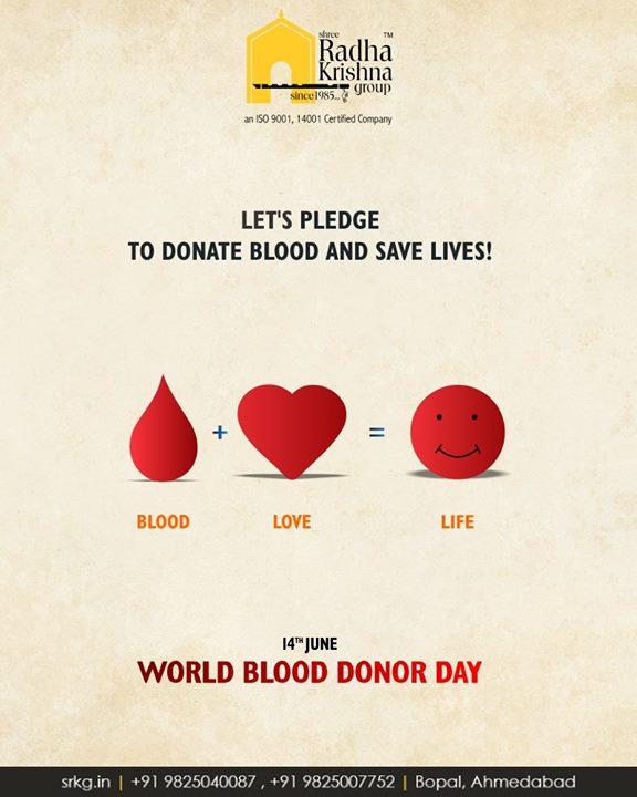 Radha Krishna Group,  DonateBlood, WorldBloodDonorDay, WorldBloodDonorDay2018, ShreeRadhaKrishnaGroup, Ahmedabad