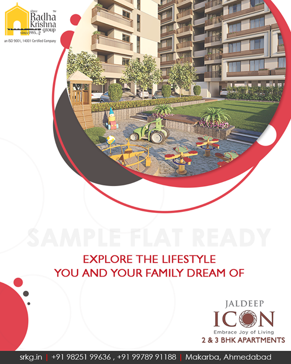 #JaldeepIcon, #Makarba is the perfect adobe offering a lifestyle you and your family dream of.  #ShreeRadhaKrishnaGroup #Ahmedabad #RealEstate #LuxuryLiving
