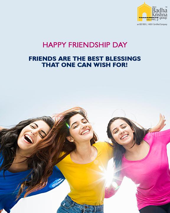 Radha Krishna Group,  HappyFriendshipDay, FriendshipDay18, FriendshipDay, FriendshipDayCelebration, Friendship, Friends, ShreeRadhaKrishnaGroup, Ahmedabad, RealEstate, LuxuryLiving