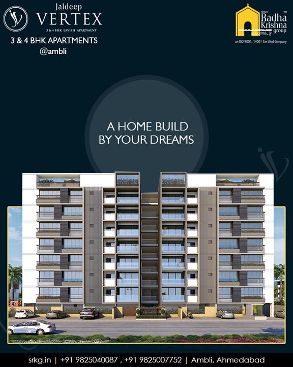 Come discover the joy of a beautiful lifestyle with your family at Jaldeep Vertex  #WorkOfArtResidence #Ambli #JaldeepVertex #ShreeRadhaKrishnaGroup #Ahmedabad #RealEstate #LuxuryLiving