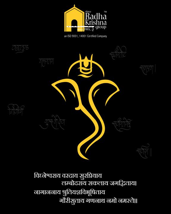 Warm greetings to everyone on the auspicious occasion of Ganesh Chaturthi  #GaneshChaturthi #GanpatiBappaMorya #Ganeshotsav #HappyGaneshChaturthi #GaneshChaturthi2018 #ShreeRadhaKrishnaGroup #Ahmedabad #RealEstate #LuxuryLiving