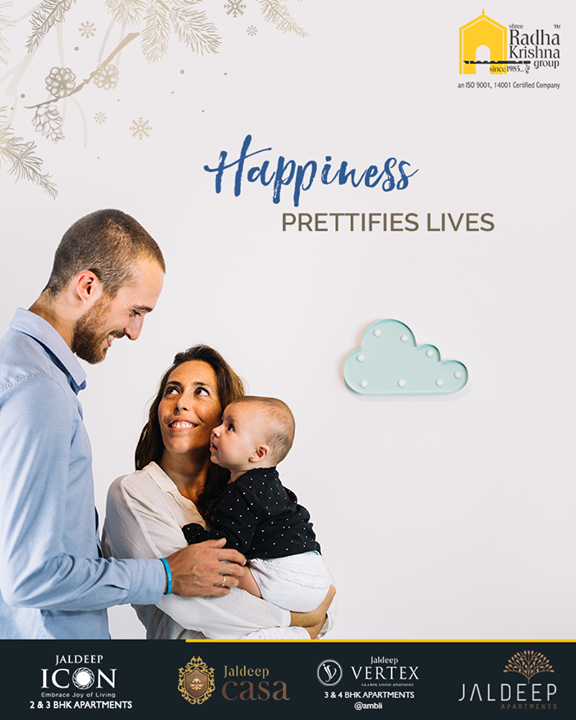 It is the affection of a mother, care of a father, smile of a child and togetherness of a family at home that opens up the doors of happiness, prettifying the lives. This winter discover and acknowledge the joy of being at home with family.  #TOTD #ThoughtofTheDay #YourHome #ShreeRadhaKrishnaGroup #Ahmedabad #RealEstate #JaldeepApartment #JaldeepVertext #JaldeepCasa #JaldeepIcon