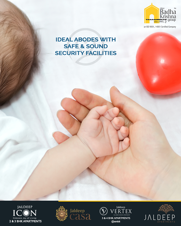 When you invest in a new home, you also wish to provide a safe & sound lifestyle to your beloved family members! Keeping your safety requirements in mind Shree Radha Krishna Group brings the ideal abodes with safe & sound security facilities.  #SafeNSoundHome #UltraModernSecurityEquipment #WorldOfHappiness #WorkOfArtResidence #Bopal #ShreeRadhaKrishnaGroup #Ahmedabad #RealEstate #LuxuryLiving