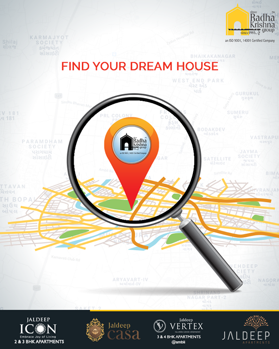 Everyone has their own dreams and their kind of dream house! Understanding different requirements of the modern home enthusiasts Shree Radha Krishna Group remains dedicated to simplify their process of finding the dream house by coming up with residential projects which have many differences.  #FindyourDreamHouse #ShreeRadhaKrishnaGroup #Ahmedabad #RealEstate #LuxuryLiving #Gujarat #India