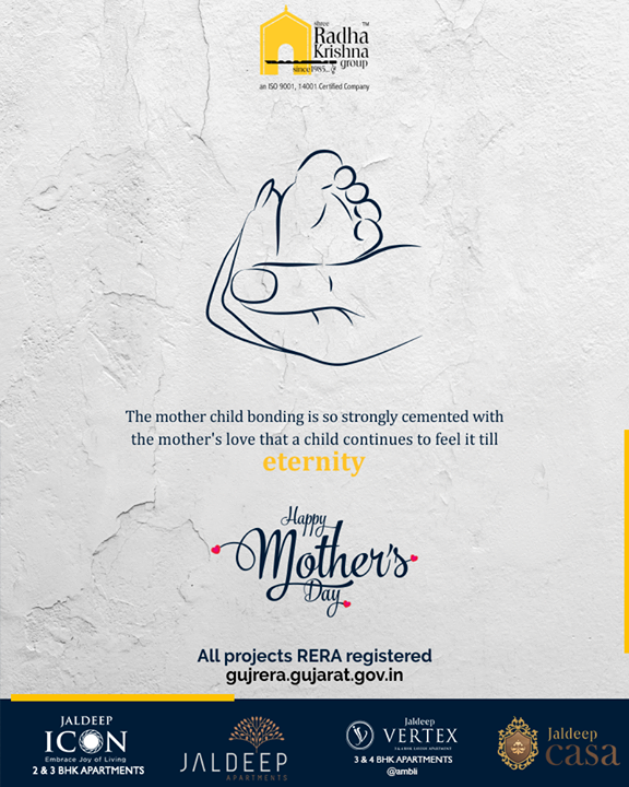 Radha Krishna Group,  MothersDay, MothersDay2019, MOM2019, HappyMothersDay, ShreeRadhaKrishnaGroup, Ahmedabad, RealEstate