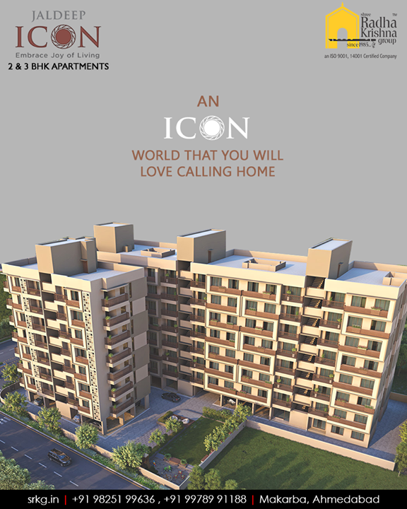 Settle down in utmost luxury of the iconic world that you love calling home.  #Amenities #LuxuryLiving #ShreeRadhaKrishnaGroup #Ahmedabad #RealEstate #SRKG #JaldeepIcon