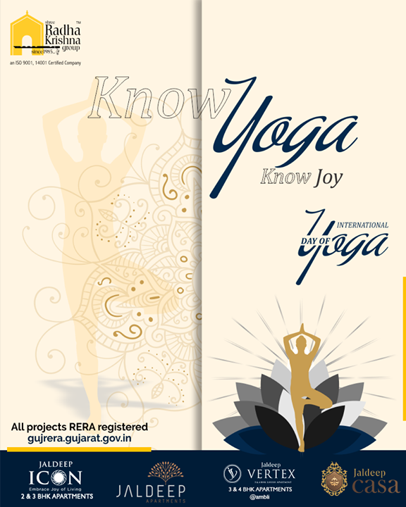 Radha Krishna Group,  InternationalDayofYoga, InternationalYogaDay, YogaDay, YogaDay2019, Yoga, IDY2019, IYD2019, ShreeRadhaKrishnaGroup, Ahmedabad, RealEstate, SRKG