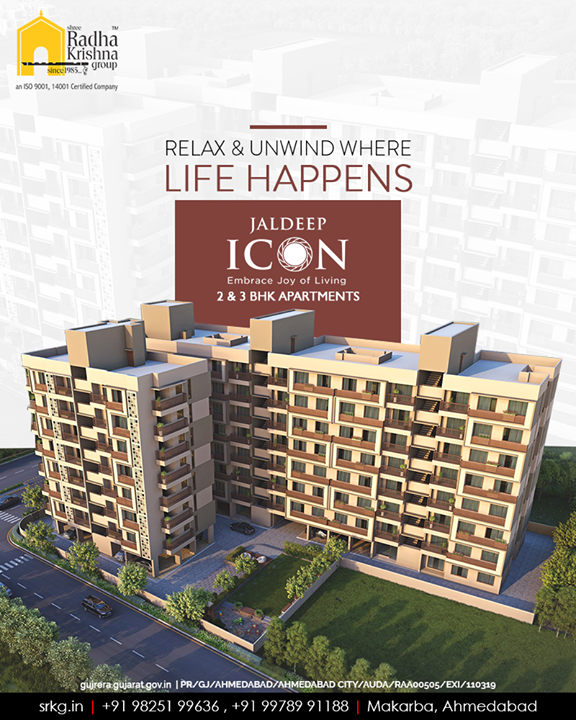 Radha Krishna Group,  JaldeepIcon, BookingsOpen, IconicLiving, ShreeRadhaKrishnaGroup, Ahmedabad, RealEstate, SRKG, KidFriendlyAmenities
