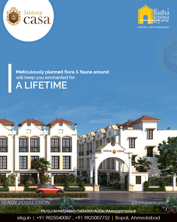 Radha Krishna Group,  ShreeRadhaKrishnaGroup, Ahmedabad, RealEstate, SRKG, CasaLiving, Bopal