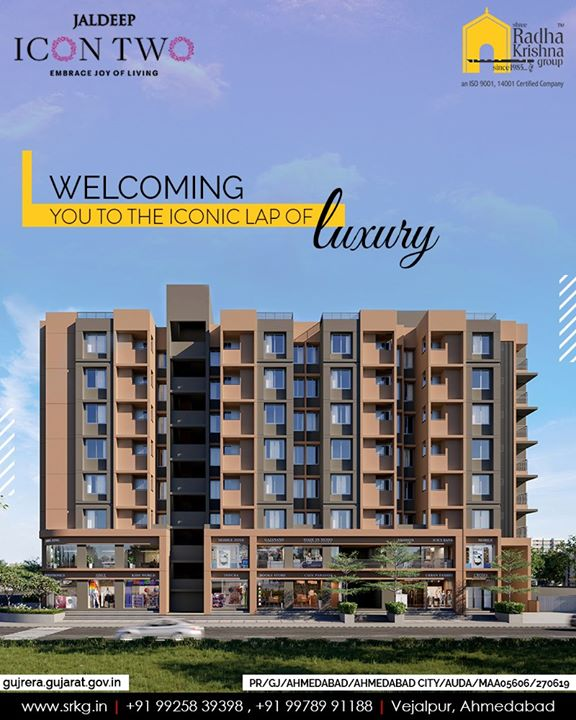Radha Krishna Group,  JaldeepIcon2., IconicLiving, ShreeRadhaKrishnaGroup, Ahmedabad, RealEstate, SRKG, KidFriendlyAmenities