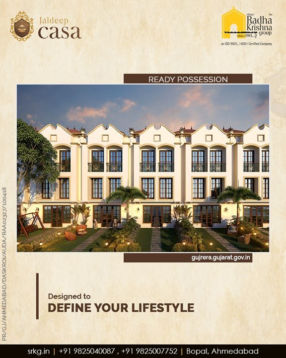 Radha Krishna Group,  JaldeepCasa, Amenities, LuxuryLiving, ShreeRadhaKrishnaGroup, Ahmedabad, RealEstate, SRKG