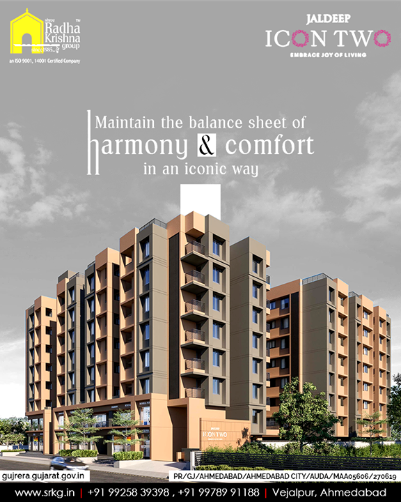 Radha Krishna Group,  JaldeepIcon2., LuxuryLiving, ShreeRadhaKrishnaGroup, Ahmedabad, RealEstate, SRKG, IconicApartments
