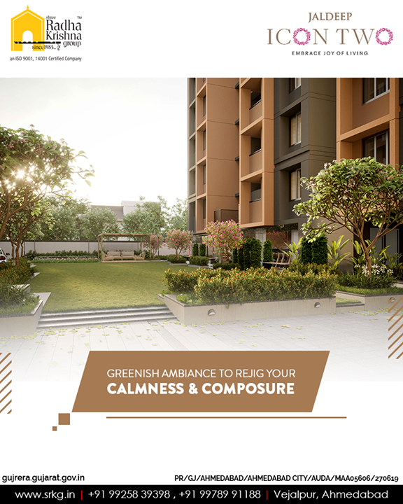 You will reside beyond ordinary since our edifices are well clubbed with happy interiors, mesmerizing aura, ventilation facility, high-end indulgences, & with the spectacular safety system!  #JaldeepIcon2 #Icon2 #ShreeRadhaKrishnaGroup #Ahmedabad #RealEstate #SRKG
