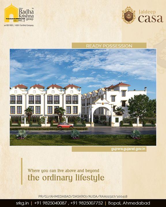Radha Krishna Group,  JaldeepCasa, CasaLife, Amenities, LuxuryLiving, ShreeRadhaKrishnaGroup, Ahmedabad, RealEstate, SRKG