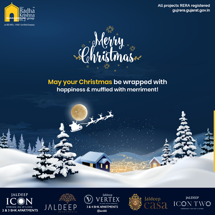 Radha Krishna Group,  Christmas, MerryChristmas, Christmas2019, Festival, Cheers, Joy, Happiness, ShreeRadhaKrishnaGroup, Ahmedabad, RealEstate, SRKG, IconicApartments, IconicLiving