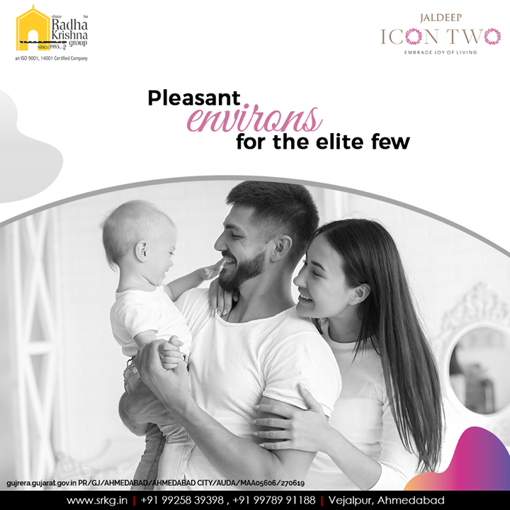 Are you willing to get a vibrant lifestyle booked for yourself and your loved ones? #JaldeepIcon2 envisages offering a pleasant environ for the elite few.  #Amenities #LuxuryLiving #ShreeRadhaKrishnaGroup #Ahmedabad #RealEstate #SRKG #IconicApartments #IconicLiving
