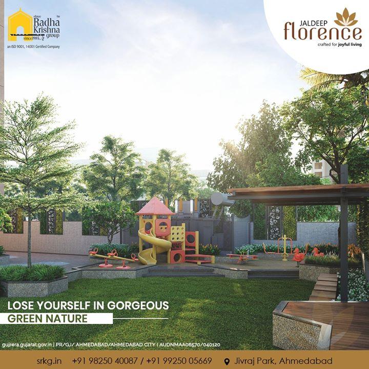 A peaceful abode for your peaceful living!  #JaldeepFlorence #LuxuryLiving #ShreeRadhaKrishnaGroup #Ahmedabad #RealEstate #SRKG