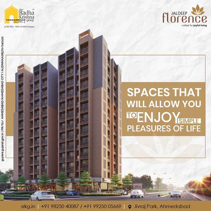 Radha Krishna Group,  JaldeepFlorence., LuxuryLiving, ShreeRadhaKrishnaGroup, Ahmedabad, RealEstate, SRKG