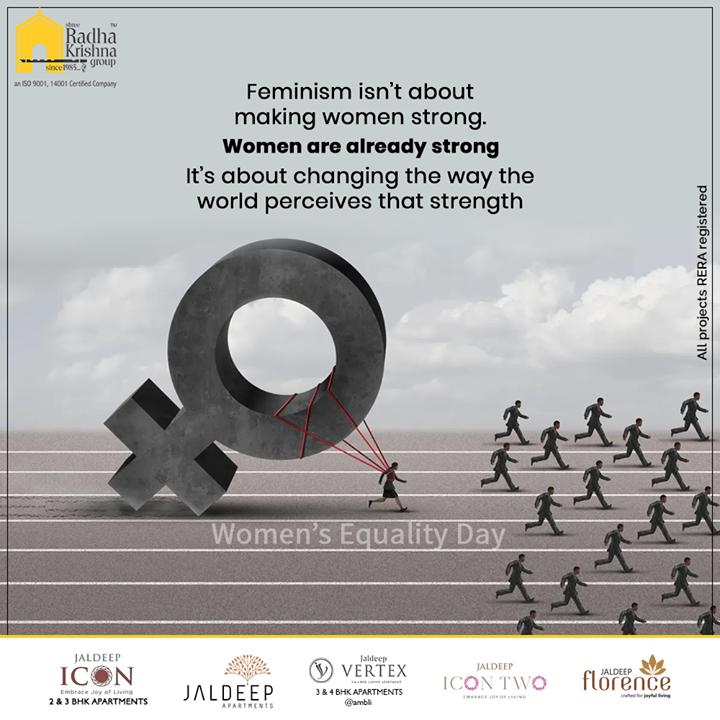 Radha Krishna Group,  WomenEqualityDay, WomenEqualityDay2020, ShreeRadhaKrishnaGroup, Ahmedabad, RealEstate, SRKG