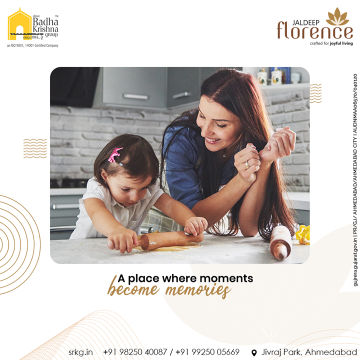 There is nothing better than spending quality time with your family in a peaceful surrounding. At JaldeepFlorence, you can revel amidst the sophisticated luxury at its finest with pristine amenities located amidst an eminent locality of Ahmedabad.  #JaldeepFlorence #LuxuryLiving #ShreeRadhaKrishnaGroup #Ahmedabad #RealEstate #SRKG