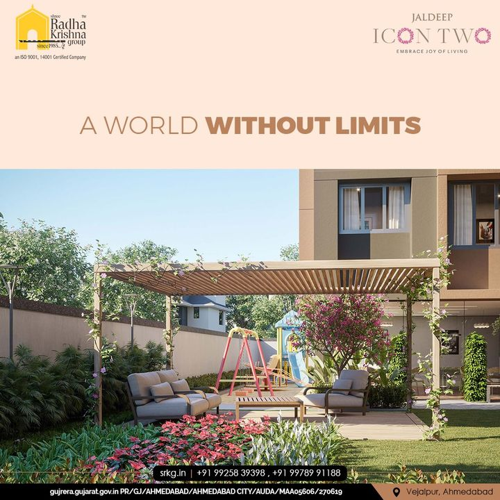 The one-of-its-kind Jaldeep Icon 2 is your private domain featuring superlative luxuries where you can always be at ease, with all the modern lifestyle amenities within easy reach.  #JaldeepIconTwo #IconTwo #LuxuryLiving #ShreeRadhaKrishnaGroup #RadhaKrishnaGroup #SRKG #Vejalpur #Makarba #Ahmedabad #RealEstate
