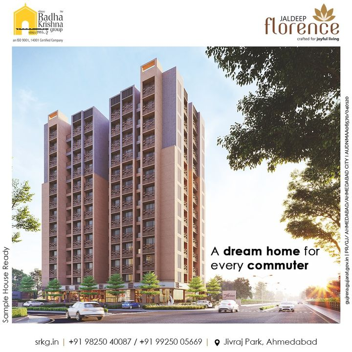 Jaldeep Florence located in proximity to all the big corporates and basic necessities is a dream home for every commuter in the city.  #JaldeepFlorence #Amenities #Launchingsoon #LuxuryLiving #RadhaKrishnaGroup #ShreeRadhaKrishnaGroup #JivrajPark #Ahmedabad #RealEstate #SRKG