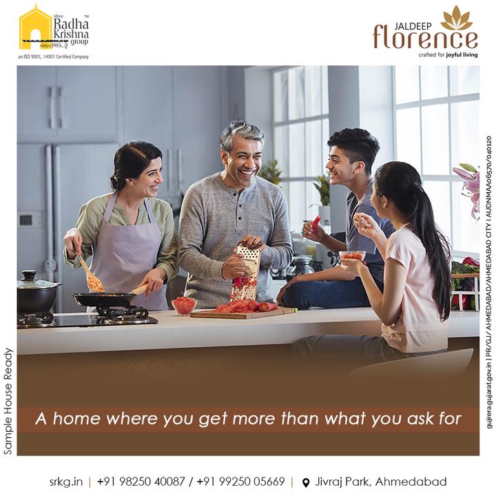 The explicitly built Jaldeep Florence give you a extravagant home where you always get more than what you ask for.  #JaldeepFlorence #Amenities #Launchingsoon #LuxuryLiving #RadhaKrishnaGroup #ShreeRadhaKrishnaGroup #JivrajPark #Ahmedabad #RealEstate #SRKG