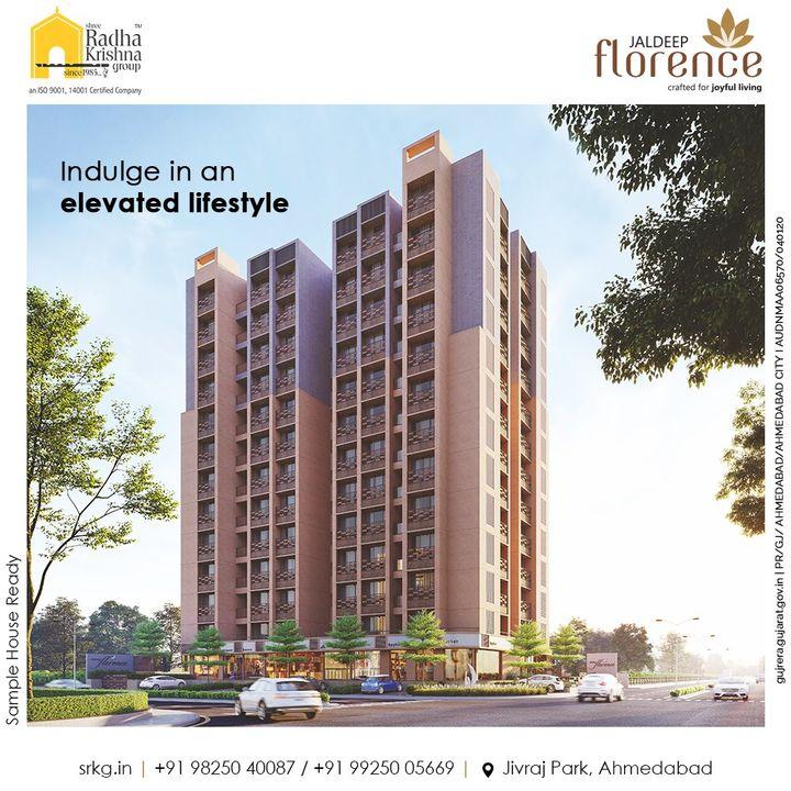 Radha Krishna Group,  JaldeepFlorence, Amenities, Launchingsoon, LuxuryLiving, RadhaKrishnaGroup, ShreeRadhaKrishnaGroup, JivrajPark, Ahmedabad, RealEstate, SRKG