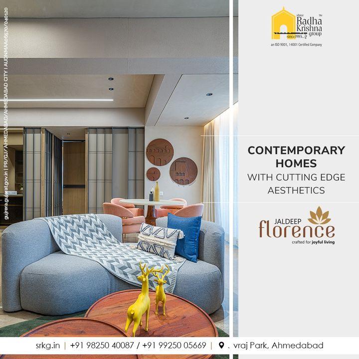 Indulge in a plush lifestyle amidst Contemporary homes with cutting edge aesthetics, only at Jaldeep Florence.  #JaldeepFlorence #Amenities #Launchingsoon #LuxuryLiving #RadhaKrishnaGroup #ShreeRadhaKrishnaGroup #JivrajPark #Ahmedabad #RealEstate #SRKG