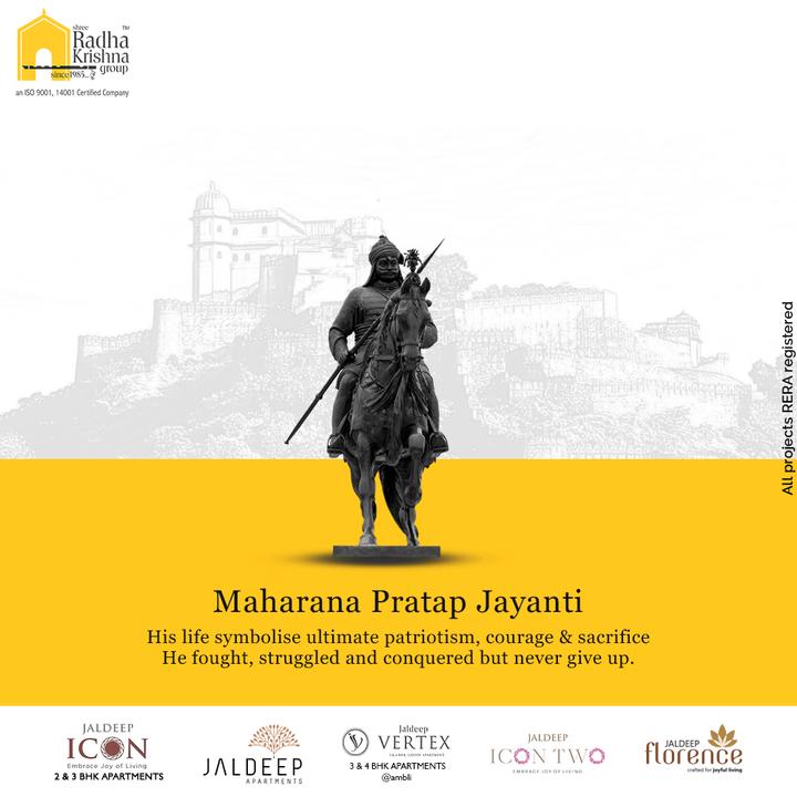 Radha Krishna Group,  MaharanaPratapJayanti, MaharanaPratap, MaharanaPratapJayanti2021, ShreeRadhaKrishnaGroup, RadhaKrishnaGroup, SRKG, Ahmedabad, RealEstate
