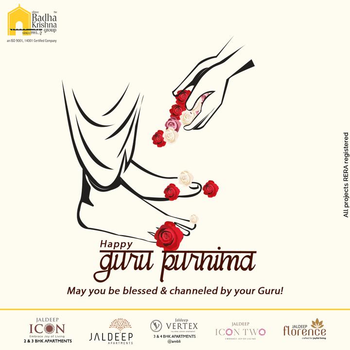 May you be blessed to channeled by your guru  #Gurupurnima2021 #Gurupurnima #HappyGuruPurnima #Guru #Guide #Mentor #ShreeRadhaKrishnaGroup #RadhaKrishnaGroup #SRKG #Ahmedabad #RealEstate