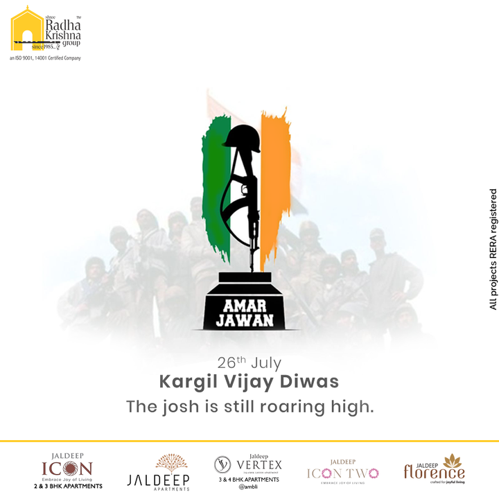 Radha Krishna Group,  KargilVijayDiwas2021, KargilVijayDiwas, Kargil, Indian, IndianArmy, Salute, RealHero, KargilWar, KargilHeros, ShreeRadhaKrishnaGroup, RadhaKrishnaGroup, SRKG, Ahmedabad, RealEstate