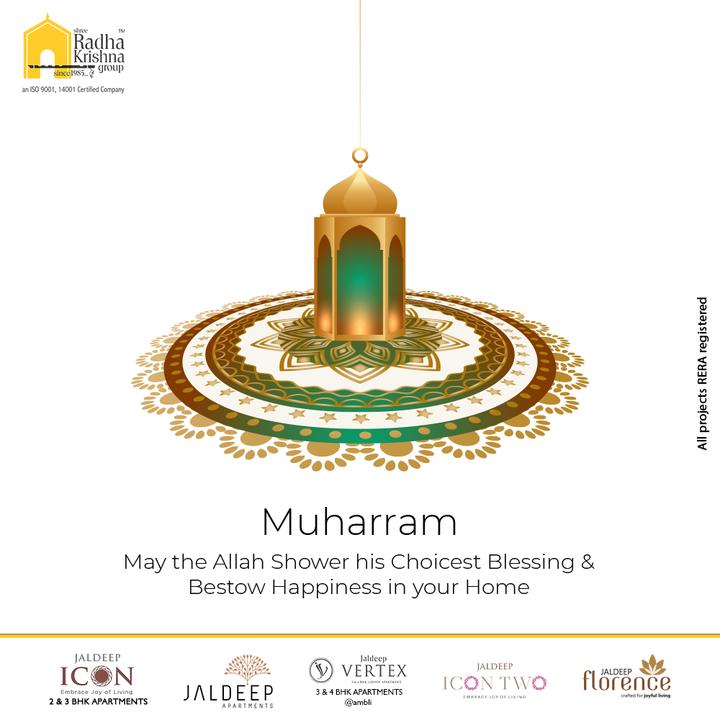 Radha Krishna Group,  Muharram2021, Muharram, ShreeRadhaKrishnaGroup, RadhaKrishnaGroup, SRKG, Ahmedabad, RealEstate