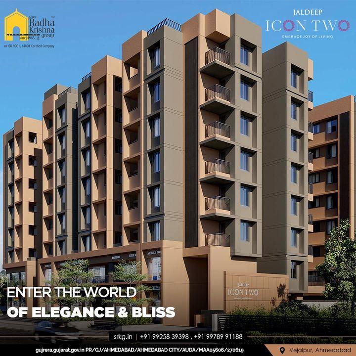 Radha Krishna Group,  JaldeepIconTwo, IconTwo, LuxuryLiving, ShreeRadhaKrishnaGroup, RadhaKrishnaGroup, SRKG, Vejalpur, Makarba, Ahmedabad, RealEstate